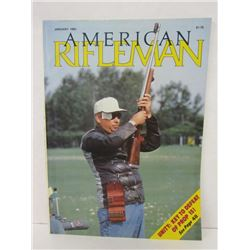 12 ISSUES OF AMERICAN RIFLEMAN MAGAZINE