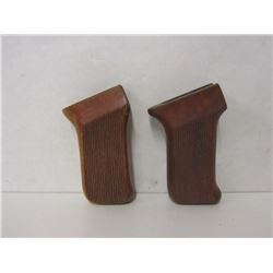 TWO PISTOL GRIPS FOR SQUIRES AND BRINGHAM GUN
