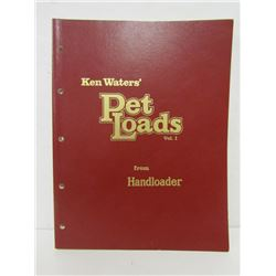 KEN WATERS' PET LOADS VOLUMES I & II