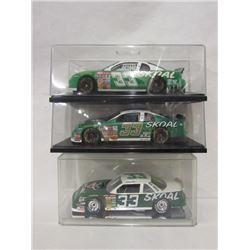THREE HARRY GANT SCALE MODEL CARS