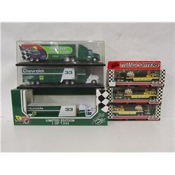 HARRY GANT NASCAR TRANSPORTER SCALE MODELS