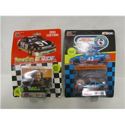 TWO NASCAR DIE CAST STOCK CARS