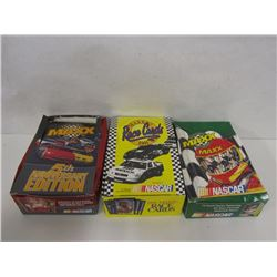 THREE BOXES OF NASCAR MAXX RACE CARDS