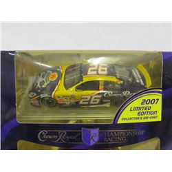 JAMIE MCMURRAY CROWN ROYAL DIE CAST CAR