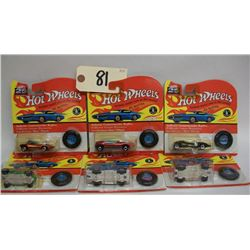 Hot Wheels 25th Anniversary Die Cast Cars-Series D