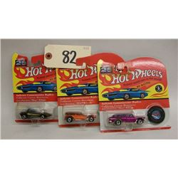 Hot Wheels 25th Anniversary Die Cast Cars-Series E