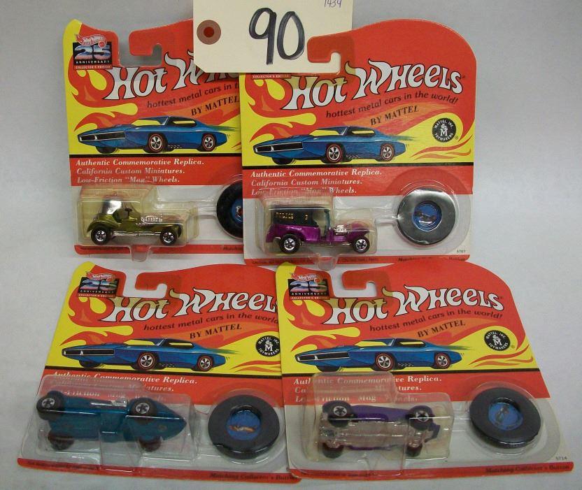 Hot Wheels 25th Anniversary Die Cast Cars-Ser  K2