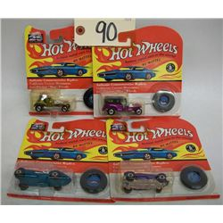 Hot Wheels 25th Anniversary Die Cast Cars-Ser. K2