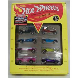 Hot Wheels 25th Anniversary Die Cast Cars Set