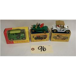Matchbox Models of Yesteryear Y2, Y3, Y4