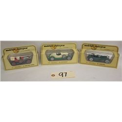 Matchbox Models of Yesteryear Y1, Y2, Y14