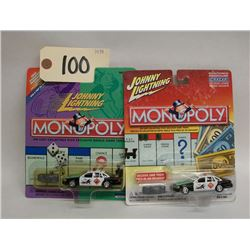 Johnny Lightning (Monopoly) Die Cast Cars (2)