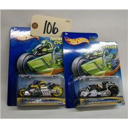 Hotwheels Thunder Cycles Law Enforcers (2)