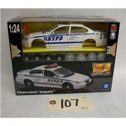 Maisto Die Cast Model Kit- Chevorlet Impala