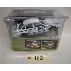 Lincoln Mint NYPD Die Cast Model Kit