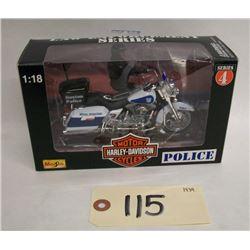 Maisto Harley Davidson Police Motorcycle: Boston