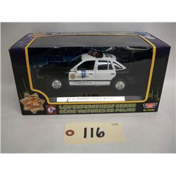 Motor Max LA County Police Die Cast Car