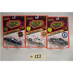 Road Champs Die Cast Cars (3) State Police Series