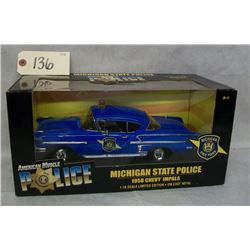 Ertl Collectibles Michigan State Police 1958 Chevy