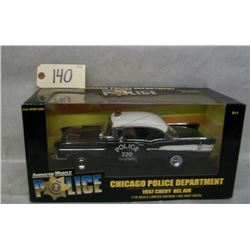 Ertl Collectibles Chicago Police 1957 Chevy BelAir