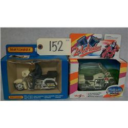 Maisto & Matchbox Motorcycles Set of 2