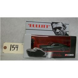 "Corgi ""Bullitt"" 1968 Ford Mustang with figure"