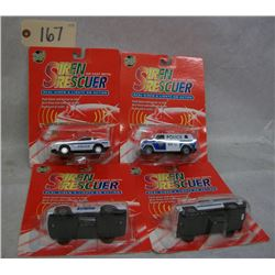Road Tough Siren Rescuer Die Casts (4)