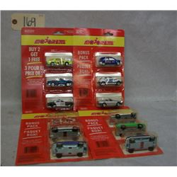 Majorette Die Cast Metal Cars (4 packages of 3)