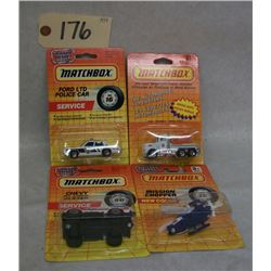 Matchbox Die Cast Emergency Vehicles (set of 4)