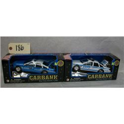 Carbank Die Cast NYPD Police Cars (2)
