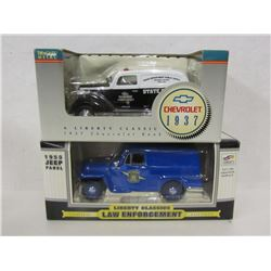 Scale Die Cast Law Enforcement Vehicles