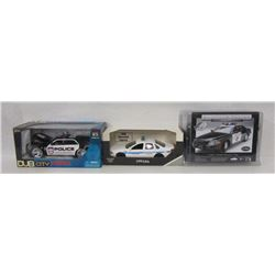 Die Cast Law Enforcement Vehicles