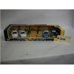 Motor Max  Die Cast  NYPD Police Car  Play Set