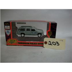 Road Champs Die Cast Suburban Police Series
