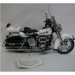 Franklin Mint Harley Davidson Police Motorcycle