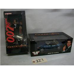 James Bond Goldeneye UT Model Die Cast & Figure