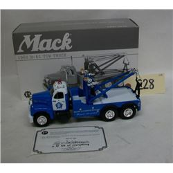 First Gear Mack 1960 Chicago Police Tow Truck