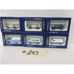 Trident Miniatures Police Vehicles (6)