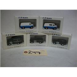 E-R Models Die Cast Trident Vehicles (5)
