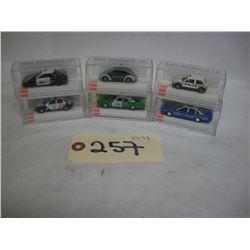 Busch Die Cast Police Cars (6)