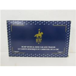 Die Cast RCMP Musical Ride Cab and Trailer