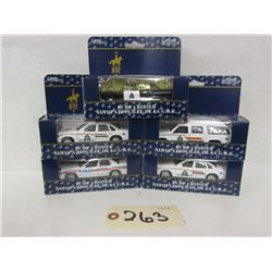 North West  Police Products Die Cast  1:43  (5pcs)
