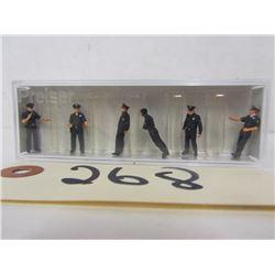 E-R Models Die Cast  Figures (4pcs)