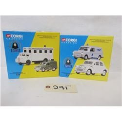 Corgi Classics Die Cast 1:43 and 1:50  ( 2 sets)