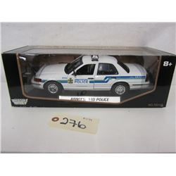 Moto Max DieCast Police Cars (2pcs)