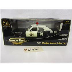 Diecast  Police Cars (2pc lot)