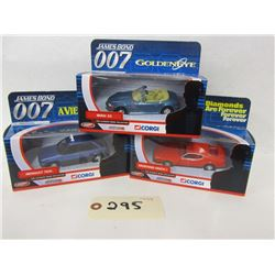 Corgi The Ultimate Bond Collection (3pcs)