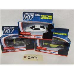 Corgi The Ultimate Bond Collection, (4 pcs)