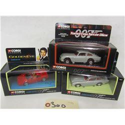 Corgi Classics  Die Cast Cars (3Pcs)