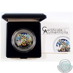2012 Republic of Palau $5 Marine Life Protection Sterling Silver Coin.